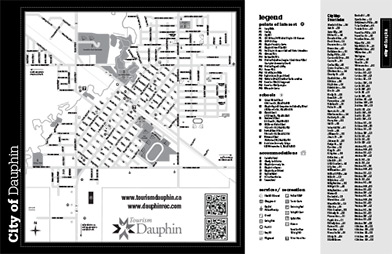 Dauphin City Map